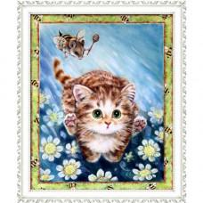 1338 Мозаика Cristal 'Погоня', 40*50 см