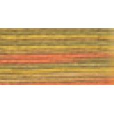 Мулине Гамма меланж цвет Р-39 песочный-желтый-оранжевый