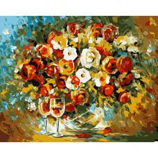B011 Цветы в вазе