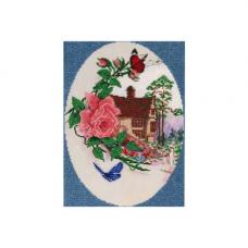 НР-3063 Канва с рисунком для вышивания бисером 'Виньетка' Hobby&Pro 25*35см