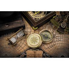 149/Б Набор для вышивания бисером Матренин посад 'Карта времени' 37*49см