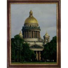 СБ-1015 Канва с рисунком для вышивания бисером 'Исаакиевский собор' Hobby&Pro 35*46см
