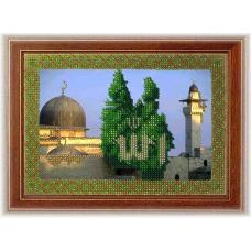 099РВМ Набор для вышивания бисером 'Вышивальная мозаика' 'Аль-Акса в Иерусалиме', 14*20 см