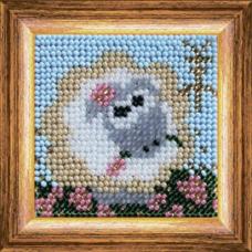 211ЗД.Набор для вышивания бисером 'Веселая овечка'