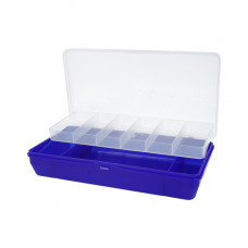 ТИП-5 Коробка, двухъярусная c микролифтом, 210*110*50 мм. (ультрамарин)