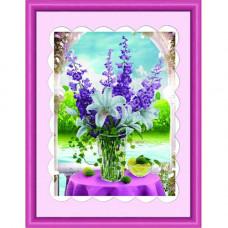 Y6031 Картина со стразами 6D, Cristal, 48x64 см