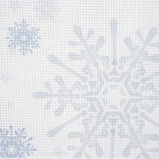 Дизайнерская канва Bestex 30*30 см (Снежинки)
