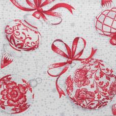 786 (802) Ткань для вышивания равномерка цветная шарики, 100% хлопок 30ct, 48*50см