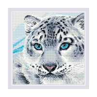 AM0040 Набор алмазной мозаики Риолис «Барс» 30*30см
