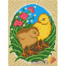АЖ-1320 Пасхальные цыплята