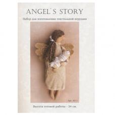 A011 Набор для изготовления игрушки ANGELS STORY 34 см