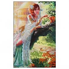 62008 Набор для вышивания бисером Astrea 'Сказочная страна' 20х30см
