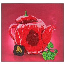 60103 Набор для вышивания бисером Astrea 'Горячий чай' 30х30см