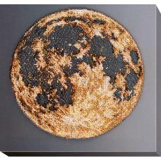 АВ-702 Набор для вышивания бисером 'Луна' 33*33см
