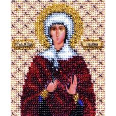 Б-1121 Икона святой мученицы Галины