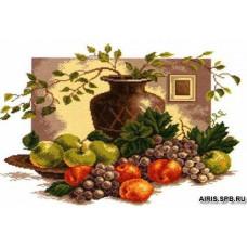 602 Канва с рисунком 'Матренин посад' 'Натюрморт греческий', 37*49 см