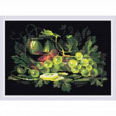 AM0026 Набор алмазной мозаики Риолис «Натюрморт с лимоном» 38*27 см