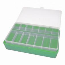 ТИП-2 Коробка, двухъярусная (со съёмной полочкой), 235*150*65 мм. (салатовый)
