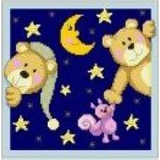 1378 Мозаика Cristal 'Звездная ночь', 28*28 см