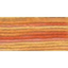 Мулине Гамма меланж цвет Р-40 коралловый-розовый-бледно-оранжевый