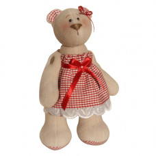 В003 Набор для изготовления текстильной игрушки 23см Bear`s Story (Ваниль)