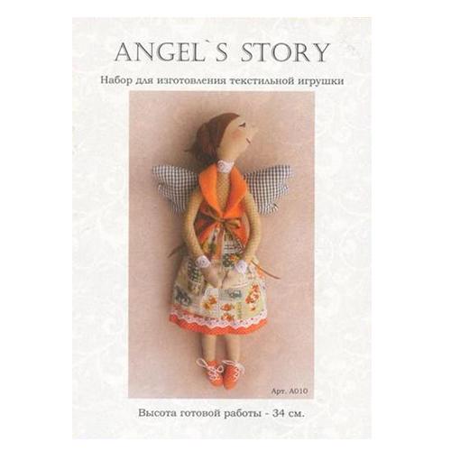 A010 Набор для изготовления игрушки ANGELS STORY 34 см