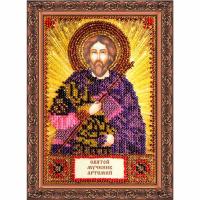 ААМ-069 Набор для вышивания бисером 'Святой Артемий'