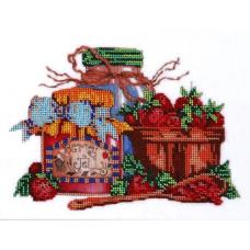 НР-3016 Канва с рисунком для вышивания бисером 'Сладкое варенье' Hobby&Pro 25*20см