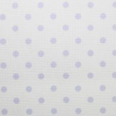 Дизайнерская канва Bestex 30*30 см (Фиолетовый горошек)