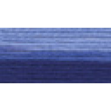 Мулине Гамма меланж цвет Р-33 темно-синий-светло-синий