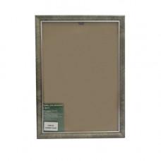 1308 Рама со стеклом, 21х30 см (44 серебро)