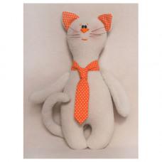 C004 Набор для изготовления игрушки CATS STORY Котик в галстуке