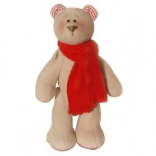 В002 Набор для изготовления текстильной игрушки 23см Bear`s Story (Ваниль)