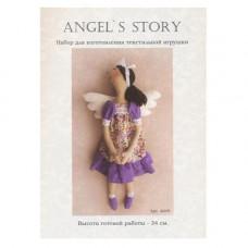 A009 Набор для изготовления игрушки ANGELS STORY 34 см