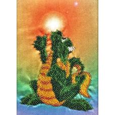 В1005 канва с рисунком Alisena (Дракончик с солнышком)