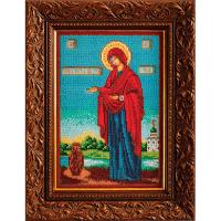 В196 Набор для вышивания бисером Кроше 'Богородица Геронтисса'18*27см