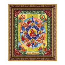 Б-1041 Пресвятая Богородица Неопалимая купина