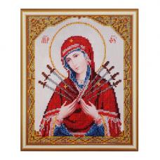 БН-4003 Икона Пресвятой Богородицы Семистрельная