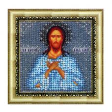084ПМИ Набор для вышивания бисером 'Вышивальная мозаика' Икона 'Св. Прпд. Алексий, человек божий', 6,5*6,5 см
