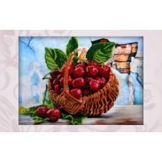 60030 Набор для вышивания бисером Astrea 'Сочная вишня' 40х28 см