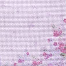 Дизайнерская канва Bestex 30*30 см (Нежные цветочки )