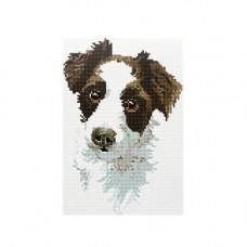 CZ006 Мозаика на деревянной основе 'Преданность', 20*30 см