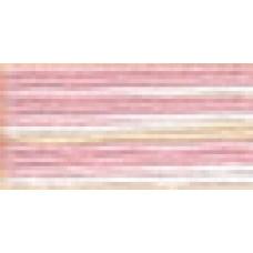 Мулине Гамма меланж цвет Р-41 бледно-розовый-молочный-персиковый