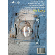 Подставка для счетного креста с магнитным транспортиром-линзой Pako 749.500