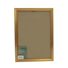 1308 Рама со стеклом, 21х30 см (GLDR1 золото)