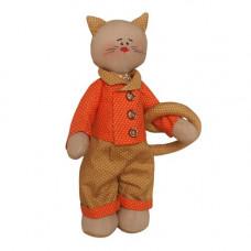 C002 Набор для изготовления текстильной игрушки 27см Catstory (Ваниль)