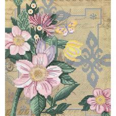 ННД4070 Набор для вышивания бисером 'Цветы любви' 20х22см
