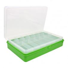 ТИП-3 Коробка, двухъярусная (со съёмной полочкой), 235*150*50 мм. (салатовый)