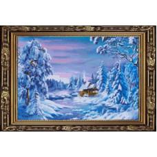 7368 Мозаика Cristal 'Зимний лес', 60*40 см