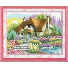 7444 Мозаика Cristal 'Сказочный домик', 53*53 см
